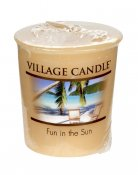 Fun in the Sun. Votive