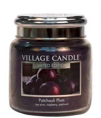 Patchouli Plum/16 oz glas